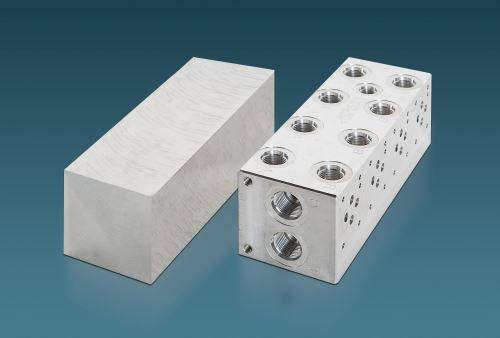 TCI Precision Metals manifold blanks