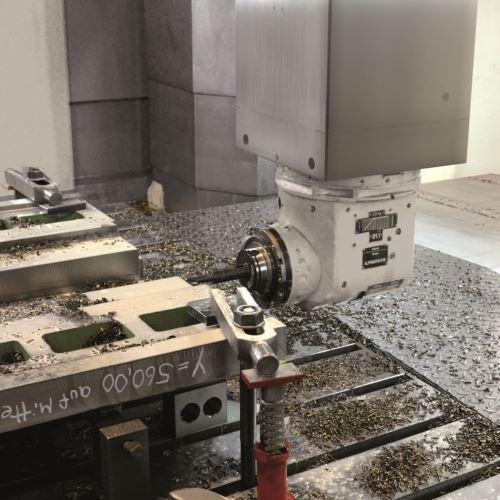 Waldrich Coburg Taurus vertical milling machine