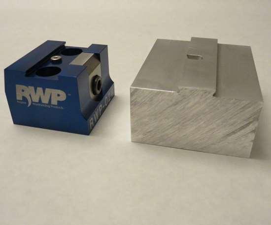 TCI Precision Metals dovetail machine-ready blanks