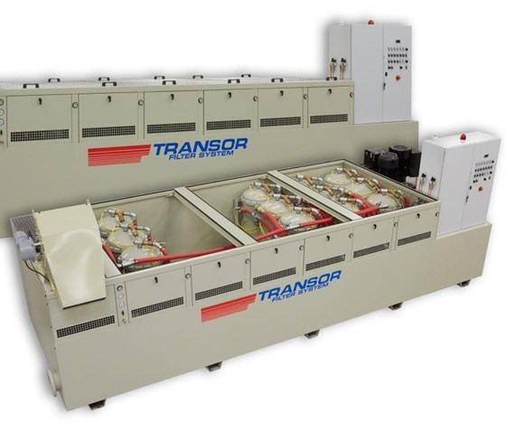 Transor V-series filtration systems
