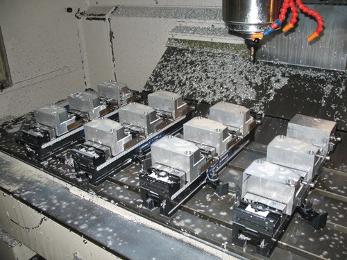 clamping multiple parts