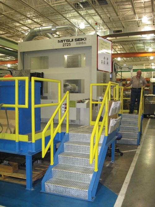 Machine for titanium