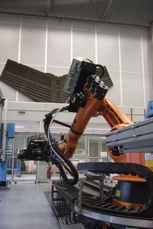 robot drilling
