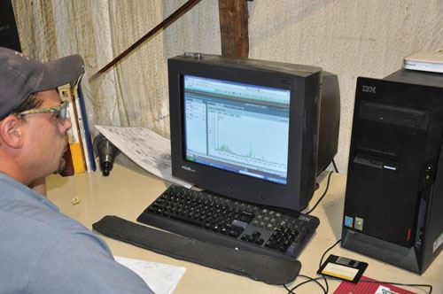 spindle monitoring system