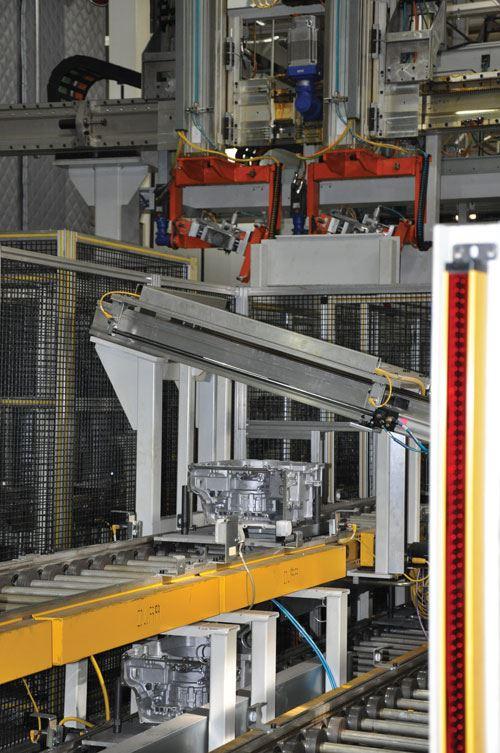 conveyor at Ford Van Dyke
