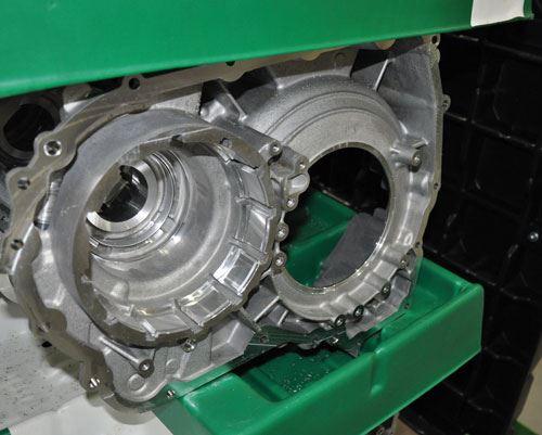 splines in transmission part