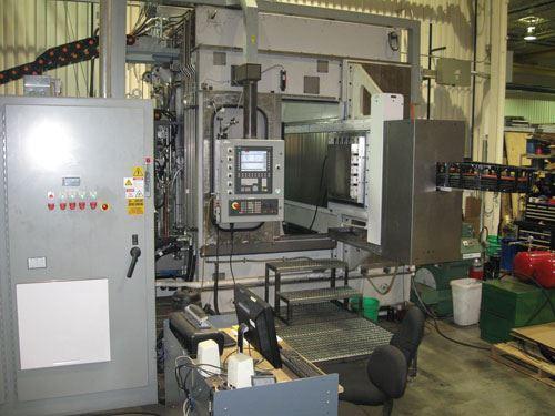 SSVF horizontal CNC milling machine