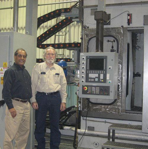Kanwar Singh and John Hurd