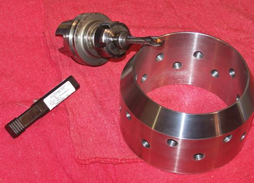 drilling threaded holes