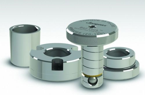 Jergens Ball Lock quick-change mounting and fixturing system
