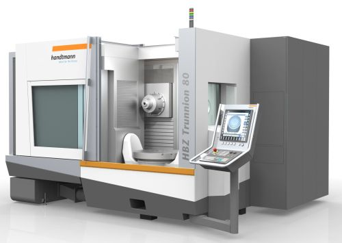 Handtmann HBZ trunnion series five-axis HMCs