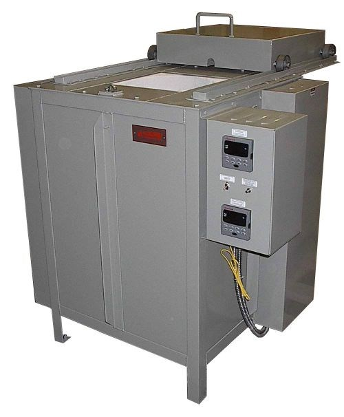 Lucifer furnaces seris 2055 top-loading pot furnace for salt bath heat treatment
