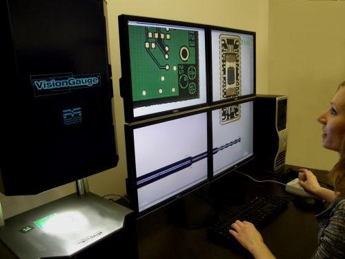 Methods 300 series VBisionGauge digital optical comparators developed by VisionX