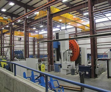Magna Machine's facility