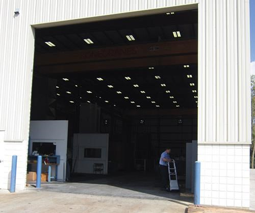 20-by-20-foot garage door