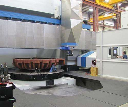 Bost 60 CY 4000 vertical turning center