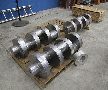 crankshaft Magna machine Bost T4F