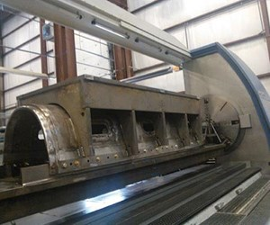 Magna Machine's German-built Union PCR 160 horizontal boring mill