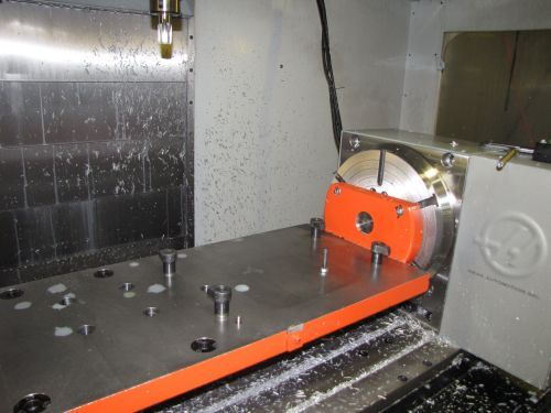 Haas VF4 vertical machining center