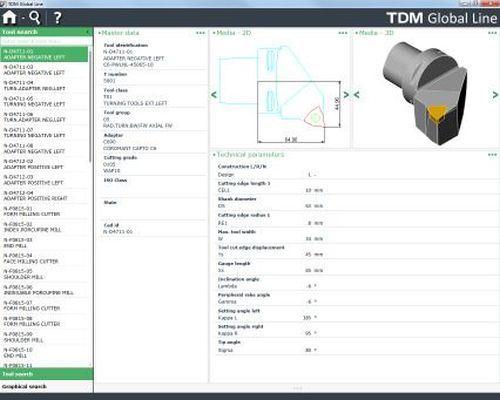 TDM version 4.6 tool management software