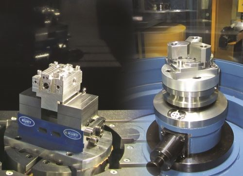 Kurt five-axis workholding options