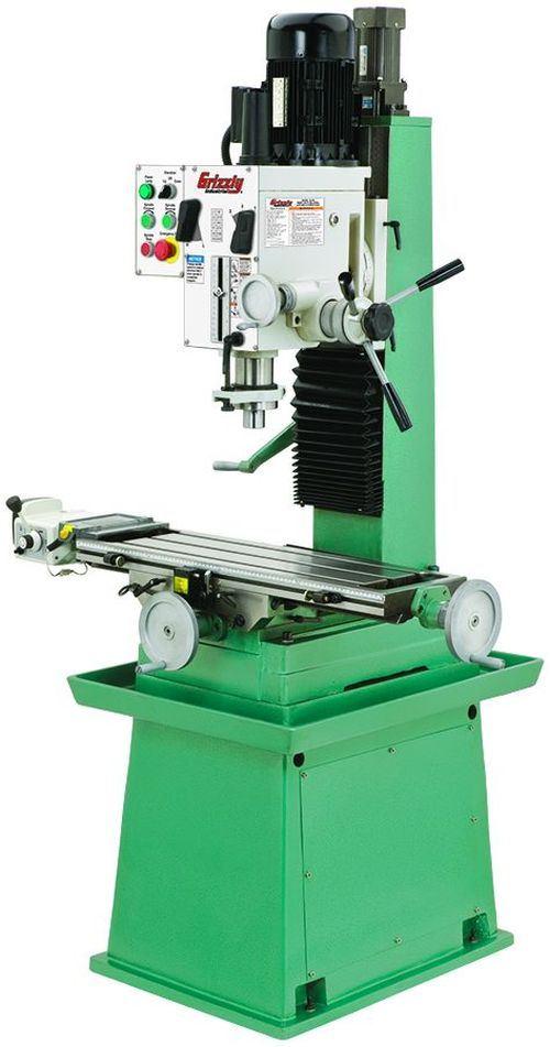 Grizzly G0755 heavy-duty gear-head mill/drill