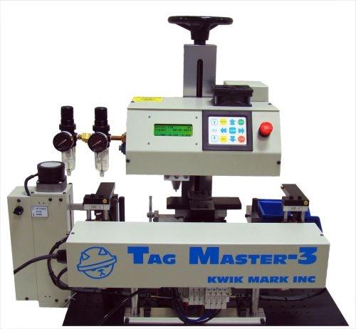 Kwikmark Tag Master 3 dot-peen marking system