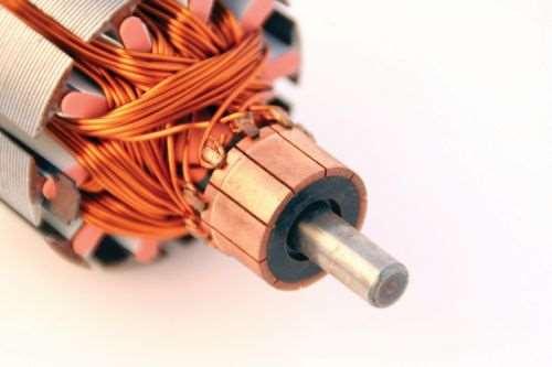 commutator of a DC motor