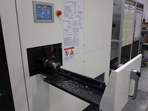 Makino a61 access door