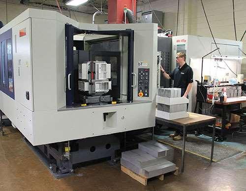 Kiwa HMC in Baum Precision Machining Inc.