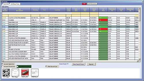 job listins capability in  Realtrac's ERP software