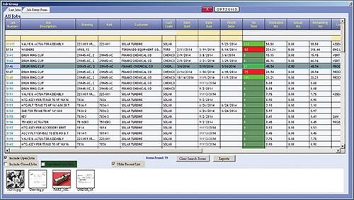 job listins capability in  Realtrac's ERP software