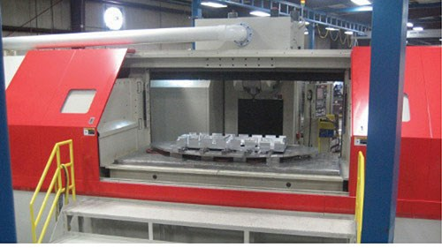 five-axis CNC machines