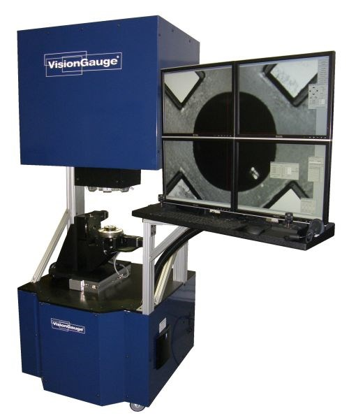 VisionGauge 700 digital optical comparator