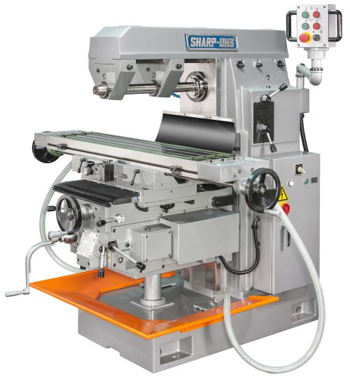 Sharp Industries UH3 horizontal milling machine