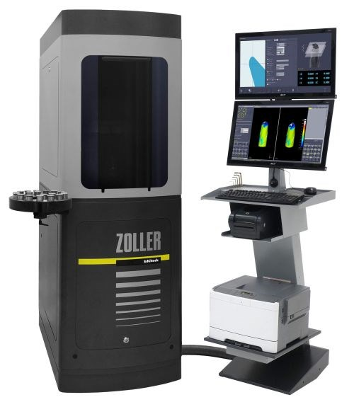 Zoller 3dCheck five-axis CNC measurement machine