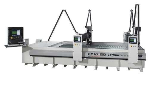 Omax 80X JetMachining Center