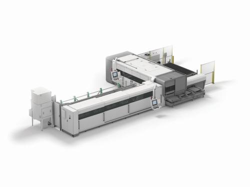 BLM LC5 fiber laser machine