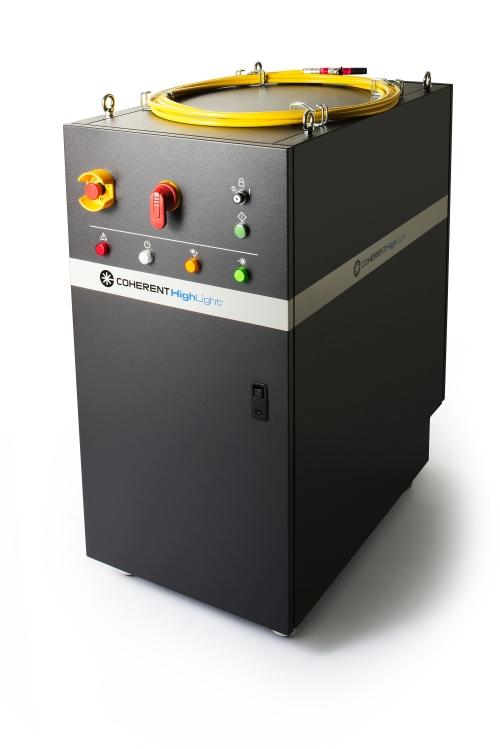 Coherent fiber laser system