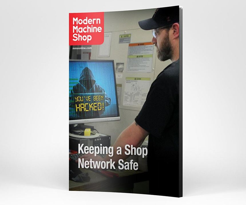 Keeping a Shop Network Safe cover