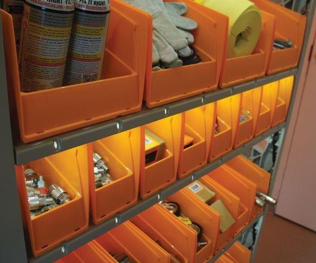 Actylus storage unit