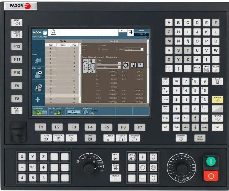 Fagor Automation 8060 FL CNC