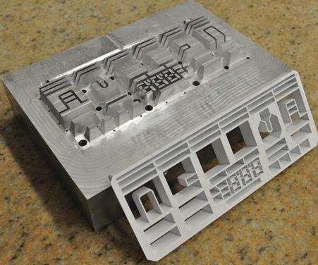 Standard aluminum mold insert
