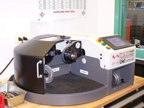 XPS-16 drill sharpener