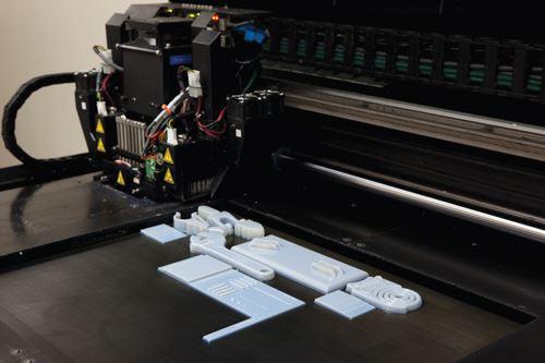 inside 3D printer
