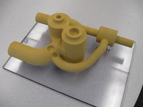 Machined core component