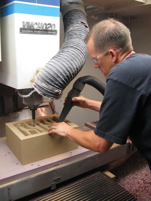 Manual dust control
