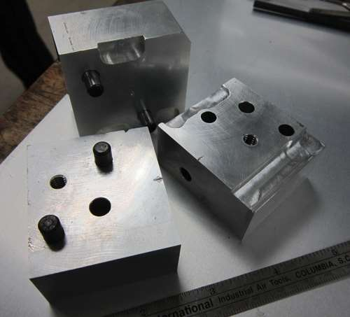 single-cavity compression molds