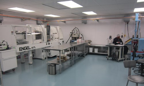 Albright's Class 7 clean room