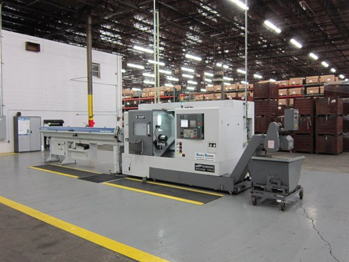 Turn-Mill Keeps Diversified Work In-House